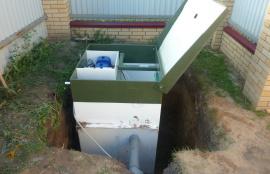 Как работает автономная канализация Топас