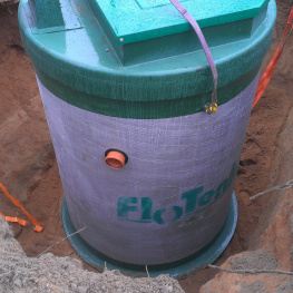 Монтаж очистных BioPurit Flotenk