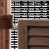 Декоративная емкость Graf Woody wall tank (400л, Коричневый)