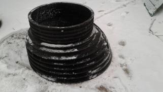 Горловина эксцентрическая konus DN 625/1000mm (Черный)