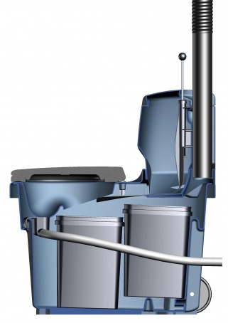 Сухой туалет Biolan с разделителем (30л, Серый)