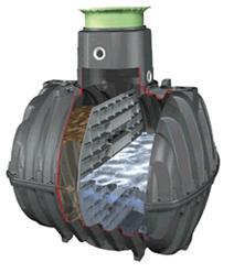 Септик Carat S Graf mini  (Черный)