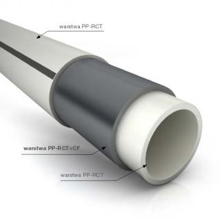 Полипропиленовая труба  CARBO oxyCRP (PN 20) Pipelife Instaplast (Серый)