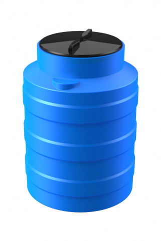 Цилиндрические емкости вертикальные (Синий)