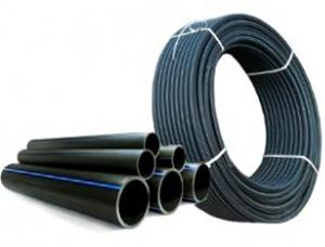 Труба ПНД для водопровода  (Черный)