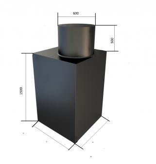 Кессон Ракольта К-1 (1000х1000, Черный)