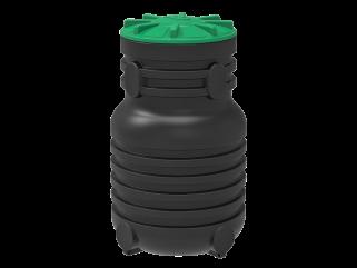 Колодец пластиковый канализационный (Черный)