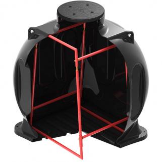 Колодец КС-5 с каркасом (Черный)