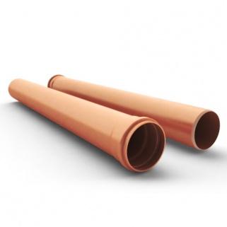 Трубы ПВХ (НПВХ) для канализации (Коричневый)