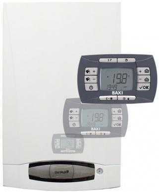 BAXI Котел NUVOLA-3 Comfort (24 кВт, Серый)