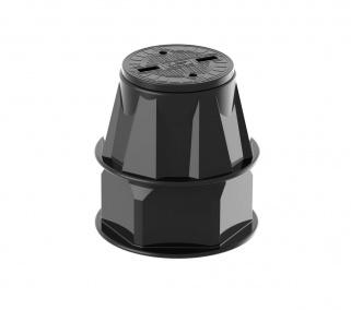 Пластиковый колодец КС-2.2  (КС-2.2, Черный)