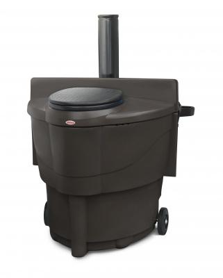 Сухой туалет Biolan Populett 200, коричневый (Коричневый)