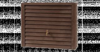 Декоративная емкость Graf Woody wall tank (Коричневый)