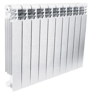 ASB Биметаллический радиатор отопления (Белый)