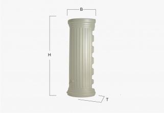Декоративная емкость Graf колонна пристенная