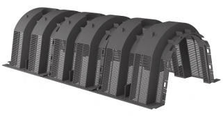Инфильтрационный тоннель 130 литров Graf (Черный)