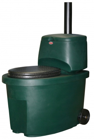 Сухой Туалет Biolan (Зеленый)