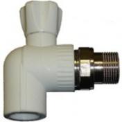 ASB Кран для радиаторов угловой с латунным шаром