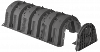 Инфильтрационный туннель 130 литров Graf